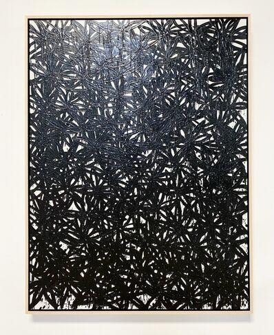 John O'Hara, 'Daisies, Black.', 2020