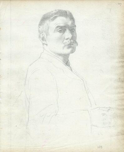 William Strang, 'Self portrait, 154', 1890