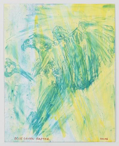 Leon Golub, 'Blue Green Raptor', 2002
