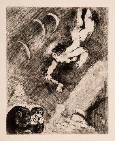 Marc Chagall, 'Le Bucheron et Mercure from Des Fables De La Fontaine', 1952