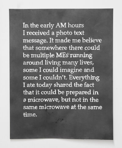 Erin Woodbrey, 'Days (Like This)'
