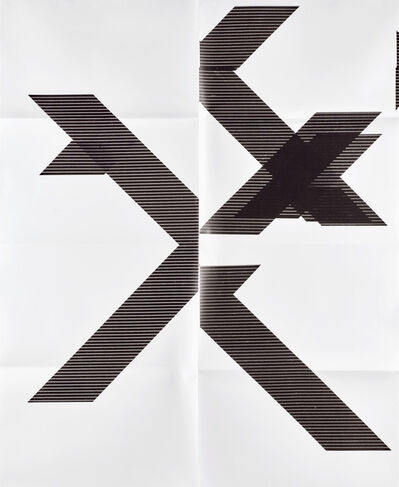 Wade Guyton, 'X Poster', 2018