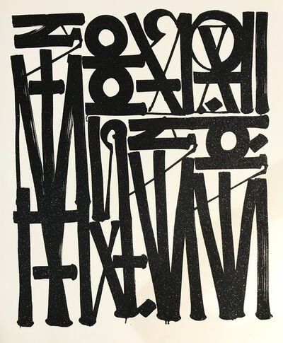 RETNA, 'So You Can See Me (Diptych)', 2016