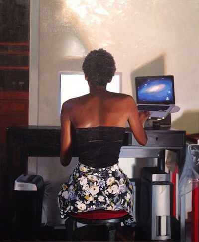 Jas Knight, 'The Model and the Monitor', 2014