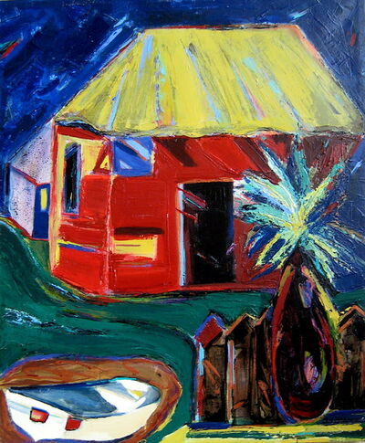 Nan Hass Feldman, 'The Red House', 2009