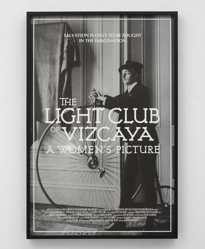 Josiah McElheny, 'Movie Poster (The Light Club of Vizcaya: A Women's Picture) IV'