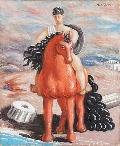 Giorgio de Chirico, 'Cavallo e cavaliere', 1934-35