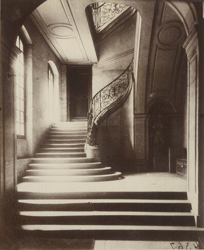 Eugène Atget, 'Escalier, Hotel du Marquis de Lagrange, 4 rue de Braque', circa 1901
