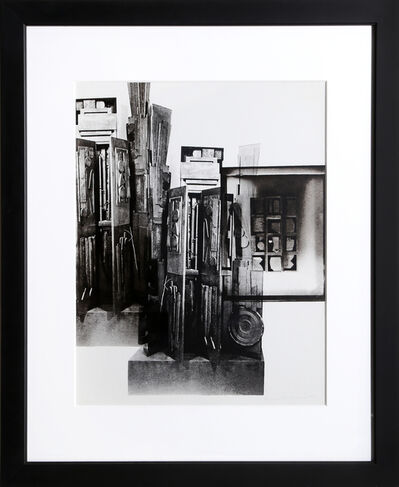 Louise Nevelson, 'Facades 3', 1966