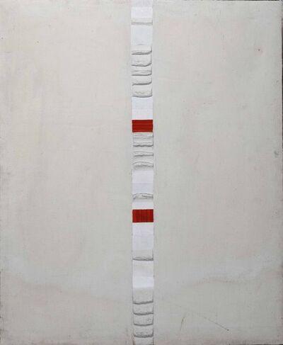 Giancarlo Bargoni, 'Costruzione con colore guida Rosso', 1963