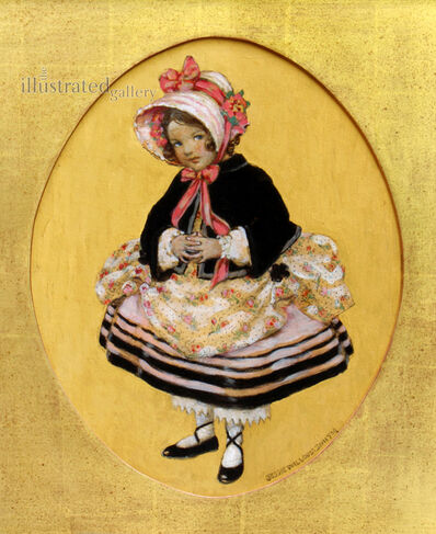 JESSIE WILLCOX SMITH, 'Girl with Bloomers, Good Housekeeping Cover', 1920