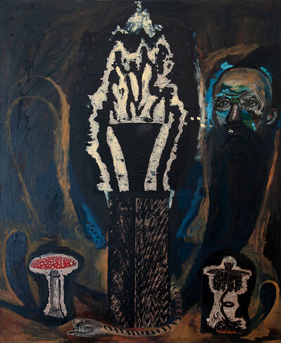 Damien Deroubaix, 'Shadow winds', 2019
