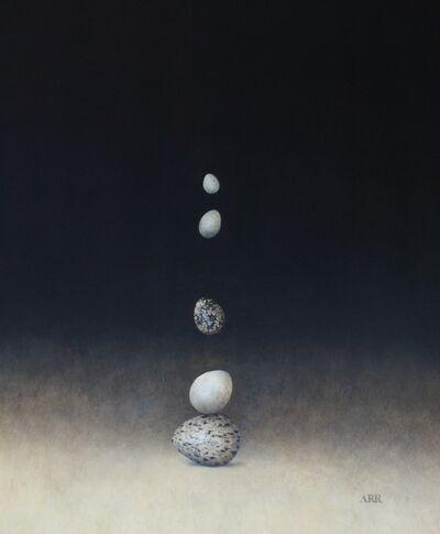 Alison Rankin, 'Five Balancing and Falling Eggs', 2019