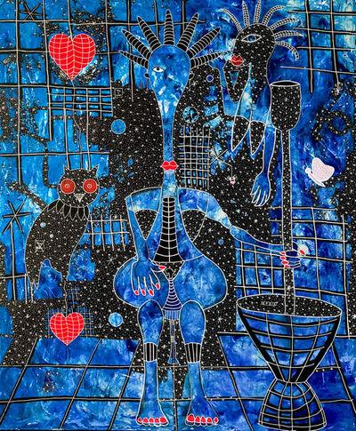 Henri Abraham Univers, 'Biiga Bleue', ca. 2020