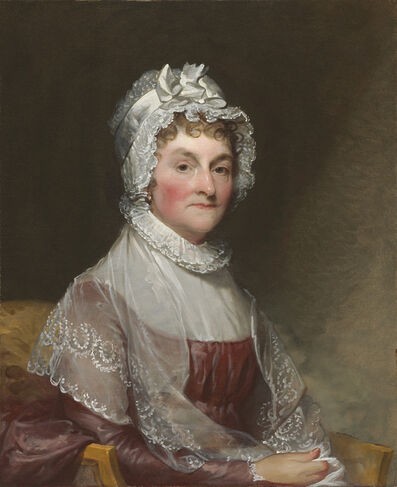 Gilbert Stuart, 'Abigail Smith Adams (Mrs. John Adams)', 1800/1815
