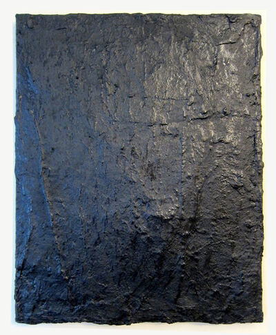 Alex Markwith, 'Tarred Canvas', 2015
