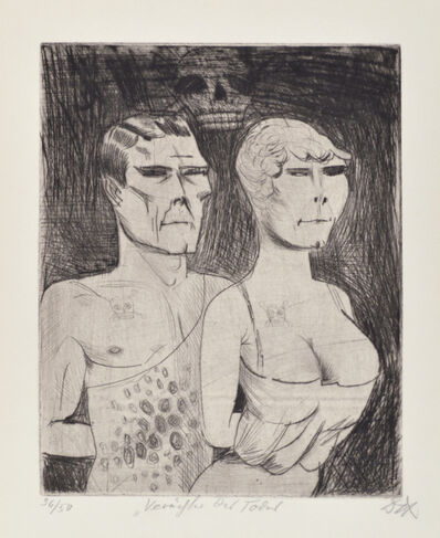 Otto Dix, 'The Death-Defiers', 1922