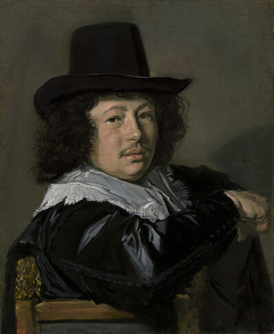 Frans Hals, 'Portrait of a Young Man', 1646/1648