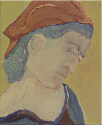 Barry Wolfryd, 'Portriat', 1975