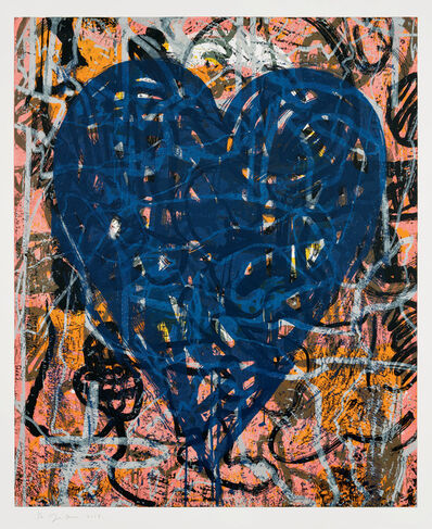 Jim Dine, 'Blue Artist at the Bahnhof', 12