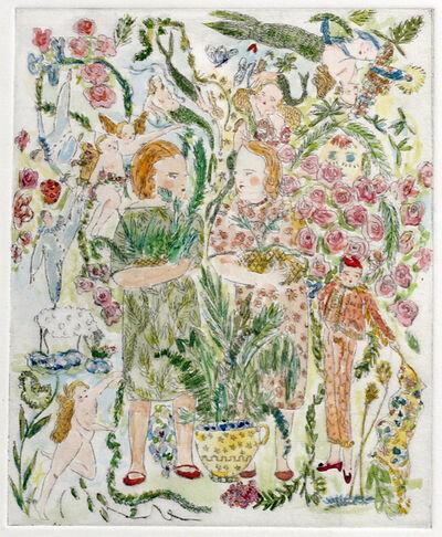 Pauline de Roussy de Sales, 'Potted Plants', 2014