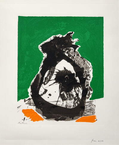 Robert Motherwell, 'Untitled B (from the Basque Suite)', 1970