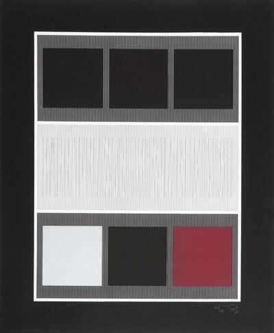 Jesús Rafael Soto, 'Burdeos. Serie Beaubourg', 1980