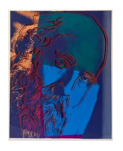 Pablo Picasso, 'Warhol, Martin Buber Portrait ScreenPrint on Lennox Museum Board, 1980', 1980-1989