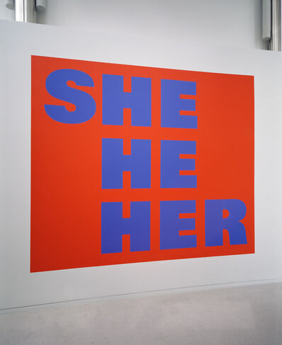Kay Rosen, 'She-Man', 1996