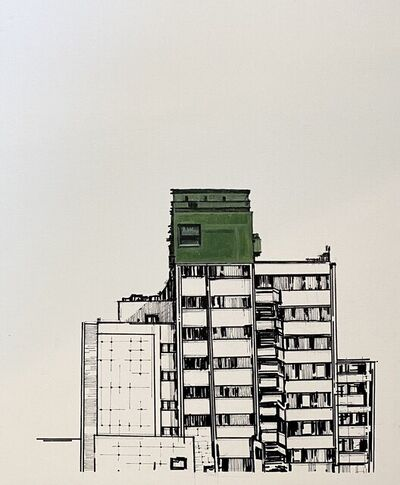 Alban Muja, 'ABOVE EVERYONE', 2021