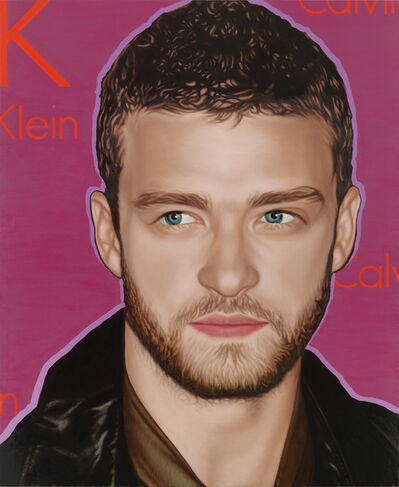 Richard Phillips, 'Most Wanted (Justin Timberlake)', 2010
