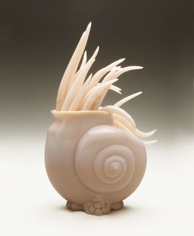 Amber Cowan, 'NAUTILUS IN CROWN TUSCAN', 2019