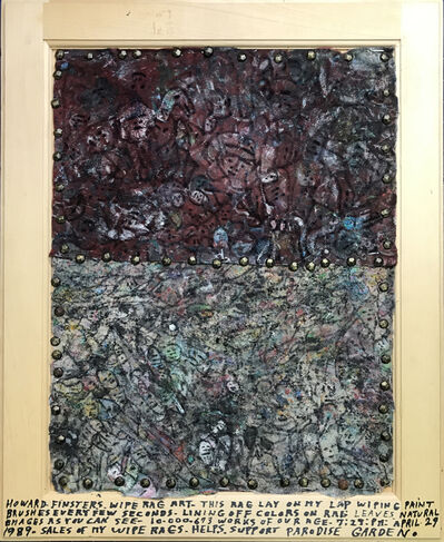 Howard Finster, 'Wipe Rag', 1989