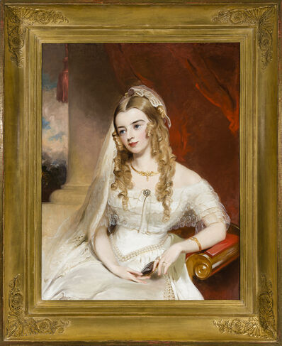 Thomas Sully, 'Portrait of Mrs. Joseph Merrefield (nee Rebecca Janney) of Baltimore', about 1849