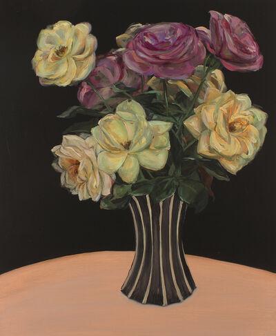 Jen Mazza, 'Roses in Czech Vase', 2010