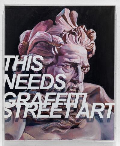 PichiAvo, 'This Needs Graffiti Street Art', 2018