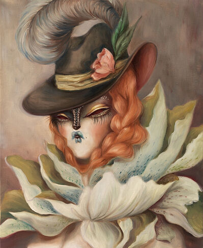 Miss Van, 'Blooming Muse VII'
