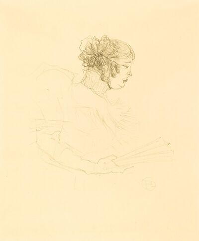 Henri de Toulouse-Lautrec, 'Luce Myres in Profile (Luce Myrès, de profil)', 1895