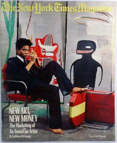 Jean-Michel Basquiat, 'Basquiat, The New York Times Magazine 1985', 1985