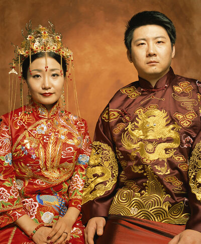 Andres Serrano, 'Zhang Yiqian and Chen Ye (Made in China) ', 2017