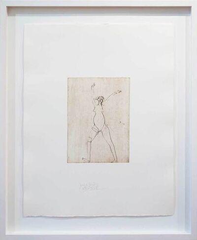 Joseph Beuys, 'Jubelndes Mädchen', 1985