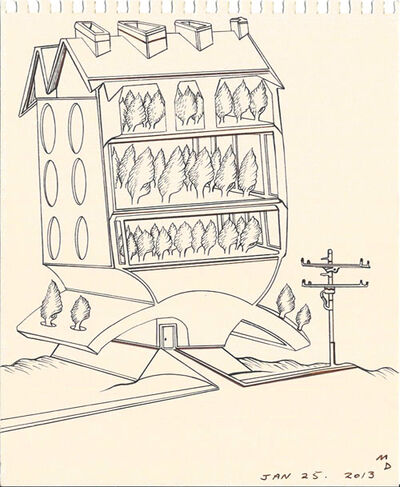 Matthew Dennison, 'Daily Drawings: January 25, 2013', 2013