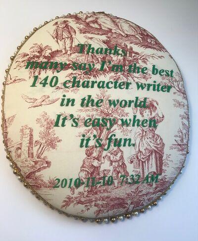 Kim Rugg, 'Character', 2021