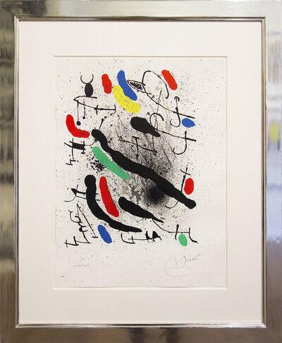 Joan Miró, 'Liberty de Libertés III', 1971