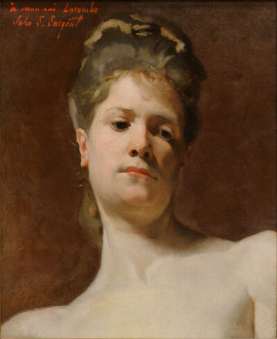 John Singer Sargent, 'Blonde Model', ca. 1877
