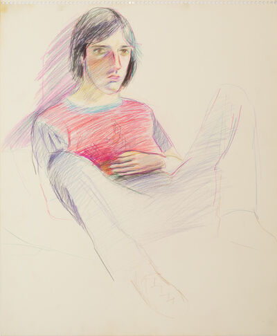 Patrick Angus, 'Untitled ( Young Man with Pink Shirt )'