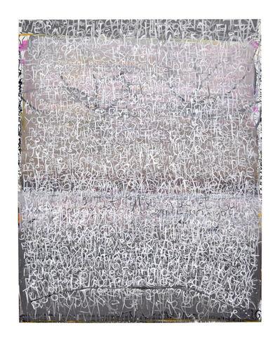 Anastasia Faiella, 'Memories in White on Gray & Lavender', 2017