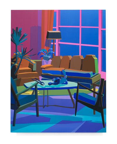 Jonathan Chapline, 'Constructed Interior (Living Room II)', 2018
