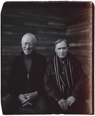 Julian Schnabel, 'Untitled (Max von Sydow and Dick Cavett)', 2007