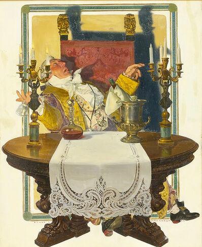 Francis Xavier Leyendecker, 'The Burgrave's Farewell', 1904